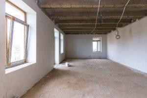 Výstavba bytového domu ve Slaném
