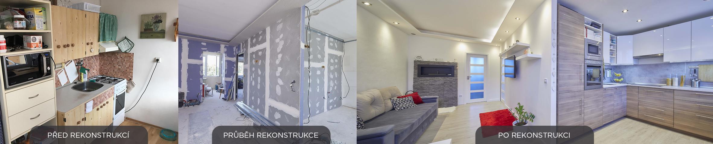kompletní rekonstrukce panelakoveho bytu - Lastovickovi