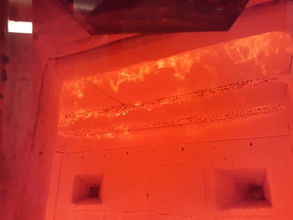 Požární zkouška Rigips v PAVUS