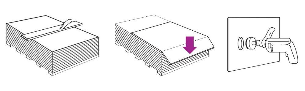 Zásady zpracování sádrokartonových desek Rigips