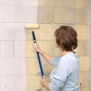 Příprava podkladu pro obklad stěn