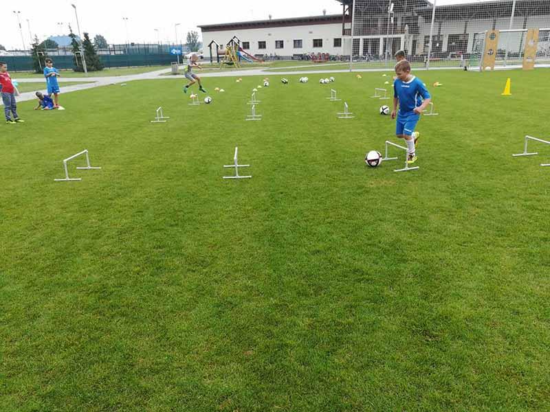 Rigips fotbalový kemp pro mladé sportovce