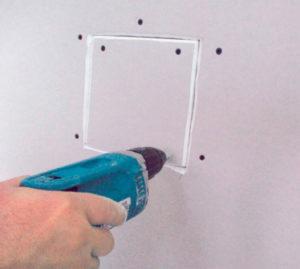 Oprava sádrokartonu - krok 4