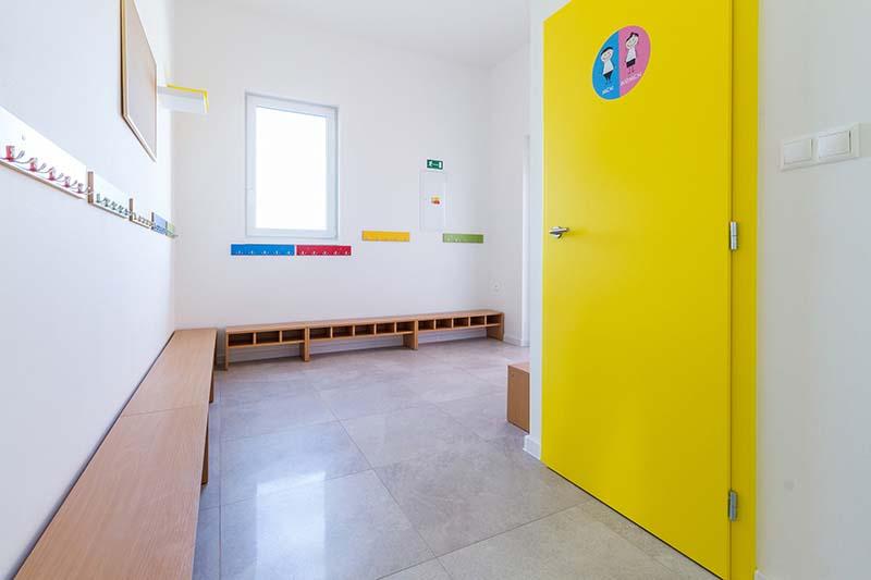 Základní a mateřská škola Beroun dřevostavba sádrokarton Rigistabil