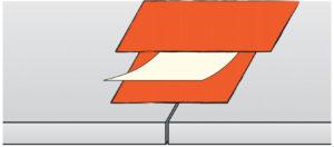 Desky Habito H s příčnou hranou kolmo řezanou