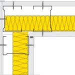 Napojení sádrokartonových příček ve tvaru L
