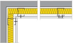 Montáž konstrukce R-CW a R-UWprofilů