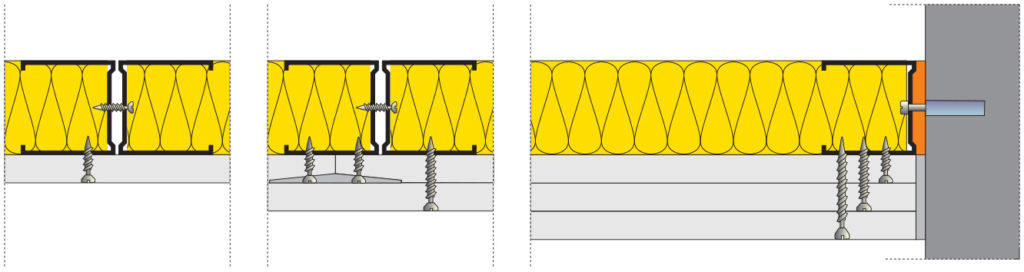 Montáž obvodových a svislýchprofilů