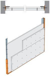 Maximální šířka šachtové stěny jsou 2m
