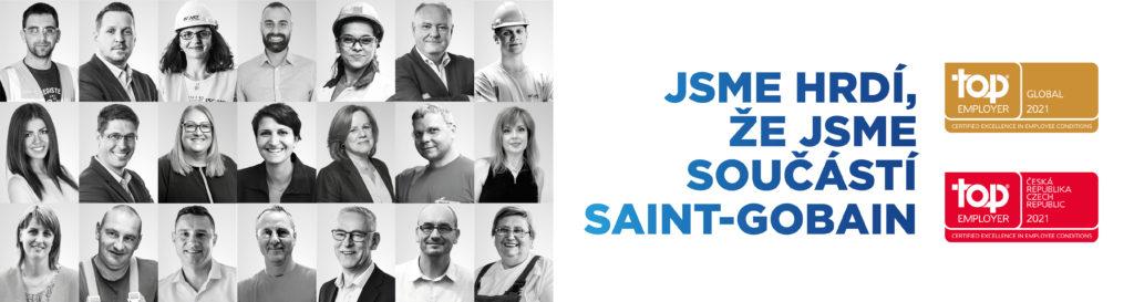 Rigips součástí skupiny Saint-Gobain oceněna Top Employer 2021
