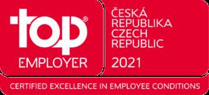 Logo Top Employer Czech Republic 2021