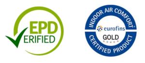 EPD a Eurofins Gold certifikace
