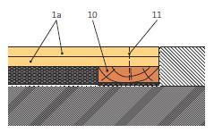 Napojení podlahy Rigidur na masivní podlahu