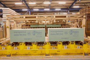 Sádrokartonové desky ve výrobě