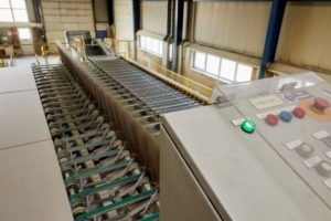 Výroba sádrokartonu